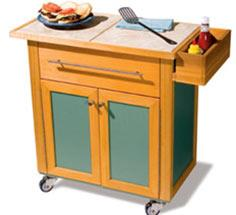 Woodworking Plans & Projects - Outdoor Serving Cart Project Plan
