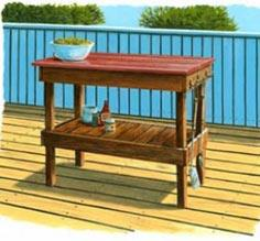 BBQ Table | TIMBER MART