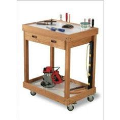 Woodworker's Journal All-Purpose Accessories Cart Plan | Rockler Woodworking and Hardware
