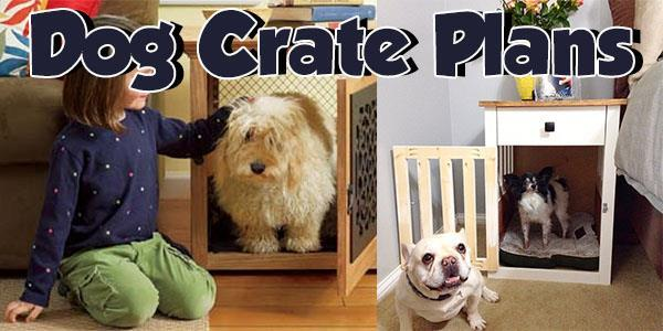 Dog Crates at PlansPin.com