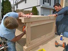 How to Build a Simple Wood Bar : How-To : DIY Network
