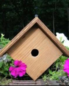 Wren Bird House Plans
