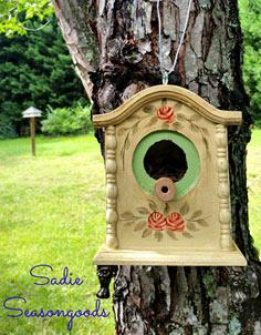 Tick Tock for your Feathered Flock- The DIY Birdhouse - Sadie Seasongoods