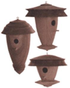 Decorative Turned Birdhouse Plan