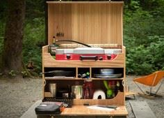 HOW TO BUILD YOUR OWN CAMP KITCHEN