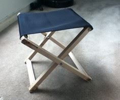 Small Foldable stool tutorial