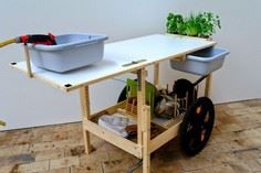 Mobile Kitchen, a Bike Trailer Kit