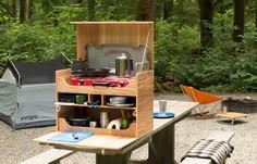 Get your camp kitchen organized