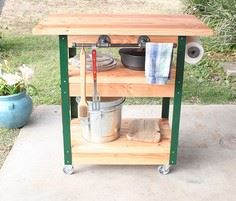 How to Build a DIY Grilling Cart