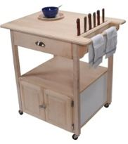 Rolling Kitchen Cart Tutorial