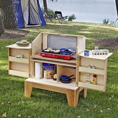 Camp Kitchen Woodworking Plan