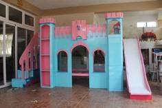 Castle Themed Bunk Bed with many f