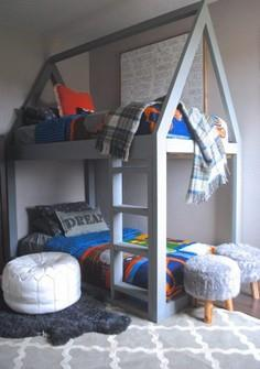 Built a House Bunk Bed, House Bed,