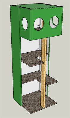 Build your own Cat Tree House!