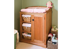 Time for change: Baby change table – Canadian Home Workshop