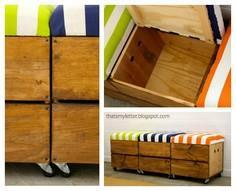 rolling blanket chest tutorial