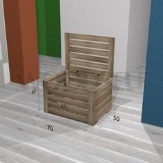 Toy box - woodworking plan