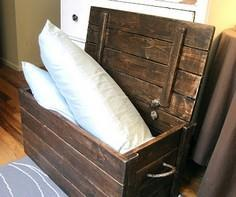 The Project Lady: Wood Storage Che