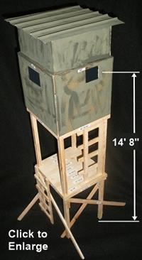 Deer Blind Plans Deer Box Plans Deer Stand Plans