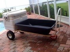 1,000 lbs Dock/Beach Cart for unde