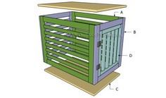 Building a dog crate