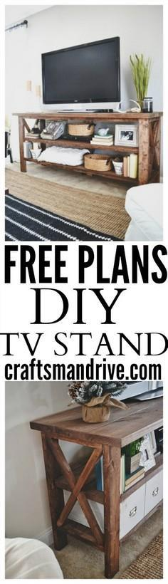 TV Stand Tutorial