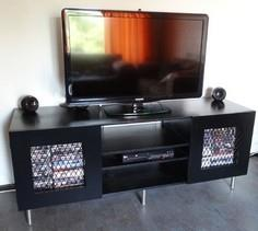 Build a flat screen TV cabinet