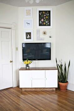 make your own media cabinet