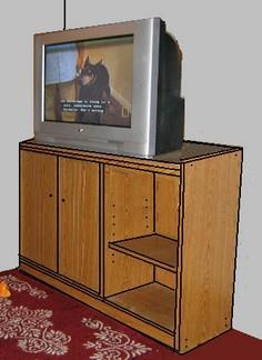 Free Entertainment Center Plans -