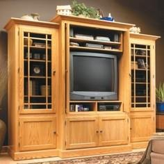 Woodsmith® Home Entertainment Cent