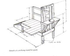 14 Goat Milking Stand Plans - PlansPin.com