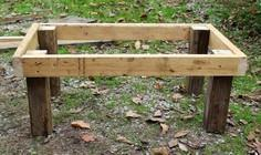 Step by step to make a stanchion