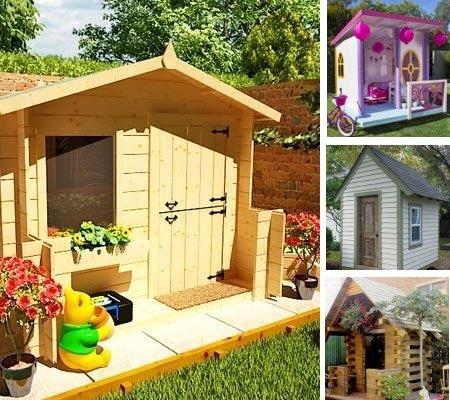 Children's Playhouse Plans