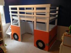 Build a Surf Bus or Van Loft Bed |