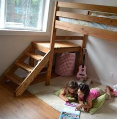 Build a Camp Loft Bed with Stair