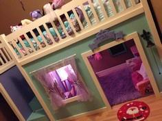 Full Size Playhouse Loft Bed