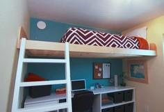 Build a Loft Bed as seen on HGTV