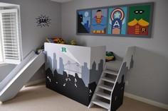 Super Hero Bed