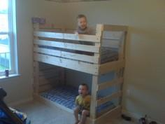 Build a Crib size mattress toddler