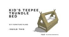Teepee Trundle Bed