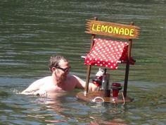 Floating Lemonade Stand