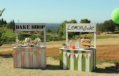 DIY Pallet Lemonade Stand