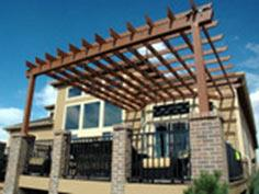How to Build a Pergola Over a Deck : How-To : DIY Network