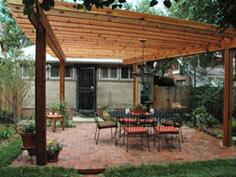 How to Build a Wood Pergola : Outdoors : Home & Garden Television