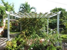 Fairy Cottage and Garden..... Re- Enchanted Life of a Domestic Mystic: My D.I.Y. Pergola