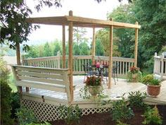 How to Build a Pergola With Adjustable Roof Panels : Outdoors : Home & Garden Television