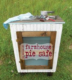if you can t buy a pie safe make one