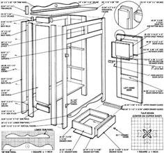 Build a Replica Antique Pie Safe