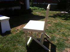 Adirondack Style Dining Chair Tutorial