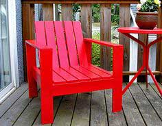 Build a Simple Outdoor Lounge Chair | Free and Easy DIY Project and Furniture Plans